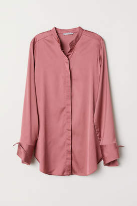 H&M Satin Blouse - Red