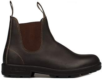 Blundstone Dark Brown Leather Low Boot