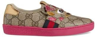 Gucci Children's Ace GG sneaker with giraffe