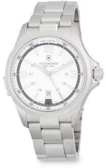Victorinox Night Vision Stainless Steel Bracelet Watch