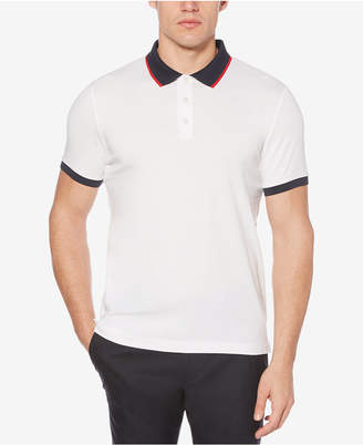 Perry Ellis Men Colorblocked Cotton Polo
