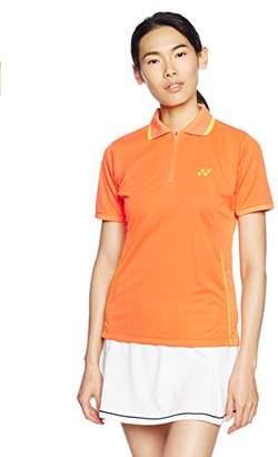 Yonex (ヨネックス) - (ヨネックス)YONEX LADIES レディースシャツ(レギュラータイプ) 20260 488 サンシャインオレンジ XO