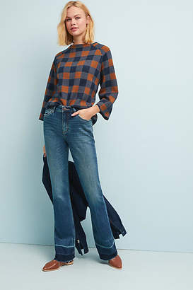 Wrangler Exaggerated High-Rise Bootcut Jeans