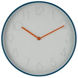Debenhams Home Collection - Teal Case Wall Clock