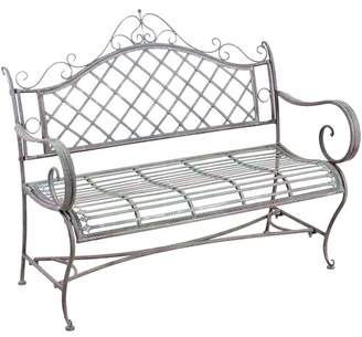 Provence Outdoor Metal Bench