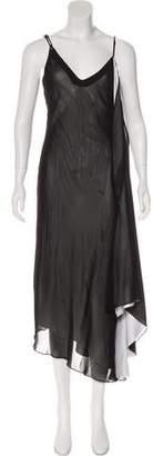 Louis Vuitton Draped Evening Dress