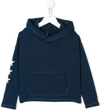 Ralph Lauren embroidered star detail hoodie
