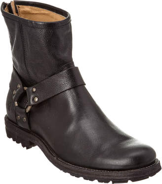 Frye Men's Phillip Lug Harness Leather Boot