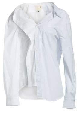 R 13 Stripe Combo Shirt