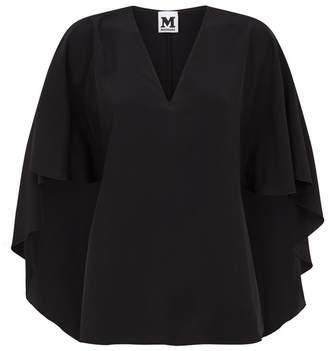 M Missoni V-Neck Silk Blouse