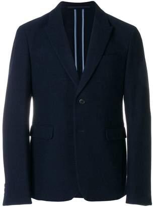 Prada contrast single-breasted jacket