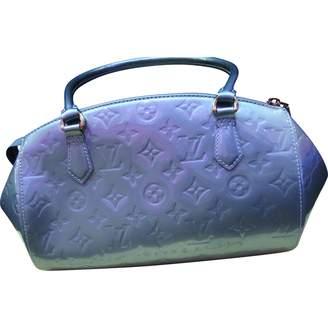 Louis Vuitton Metallic Patent leather Handbag