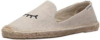 Soludos Women's Wink Embroidered Smoking Slipper
