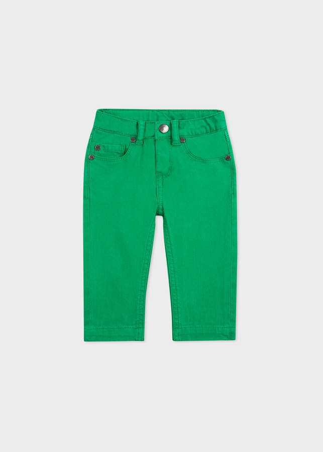 Paul Smith Baby Boys' Green Denim Jeans