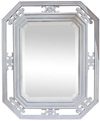 One Kings Lane Vintage 19th-C. Beveled Mirror - House of Charm Antiques