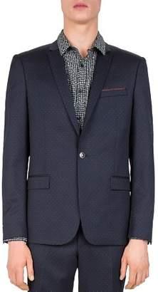 The Kooples Stitched Lines Slim Fit Sport Coat