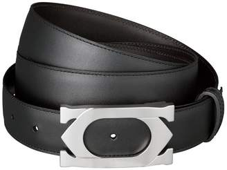 Cartier Leather Double C Logo Belt