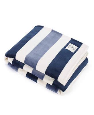 Nautica Awning Stripe Collection Throw Blanket Bedding