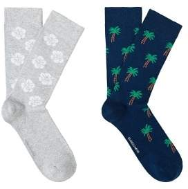 Mango Man MANGO MAN 2 pack printed socks