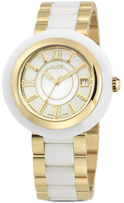Alor Women's 37Mm Two-Tone Cavo Watch