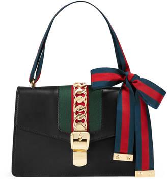 Sylvie leather shoulder bag $2,490 thestylecure.com