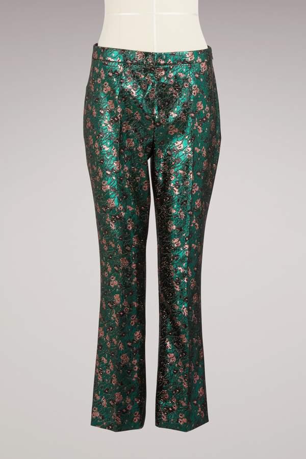 Prada jacquard trouser