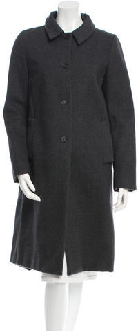 Miu Miu Miu Miu Felt Long Coat