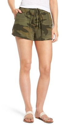Women's Splendid Camo Shorts $98 thestylecure.com
