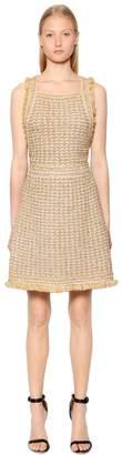 M Missoni Lurex & Wool Blend Boucle Knit Dress