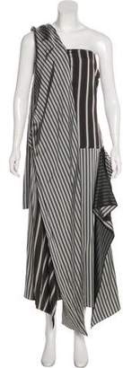 Joseph Striped Maxi Dress w/ Tags
