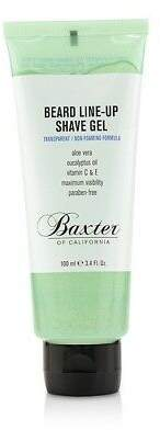 Baxter of California NEW Beard Line-Up Shave Gel (Transparent/Non-Foaming 100ml