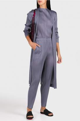 Pleats Please Issey Miyake Monthly Colors Skinny Trousers