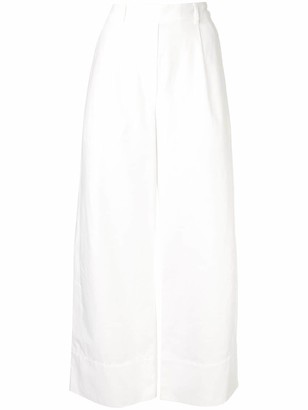 Matteau cropped summer trousers