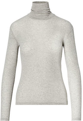 Polo Ralph Lauren Ribbed Wool-Blend Turtleneck $125 thestylecure.com