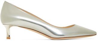 Jimmy Choo SSENSE Exclusive Silver Romy 40 Heels