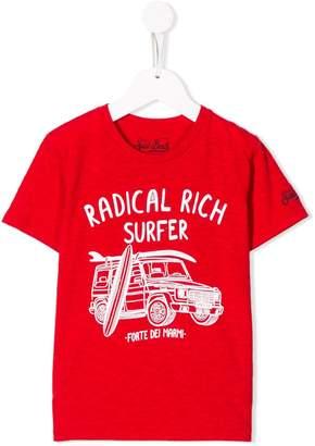 MC2 Saint Barth Kids Radical Rich Surfer T-shirt