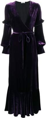 Raquel Diniz tie waist gown