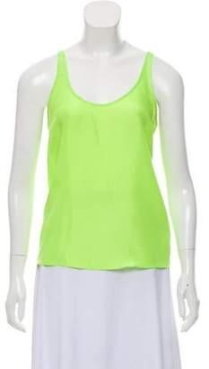 a6ebb870d2060 Diane von Furstenberg Sleeveless Silk Top