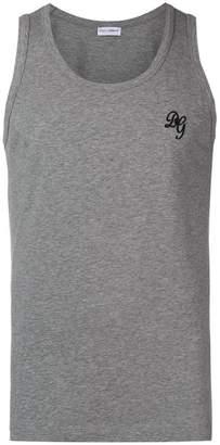 Dolce & Gabbana logo vest top