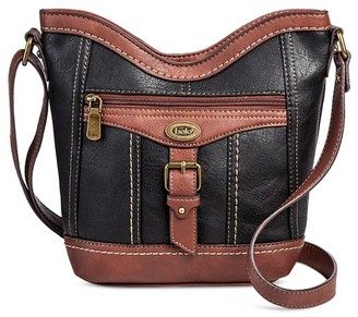 Bolo Women's Faux Leather Crossbody Handbag with Power Bank and Zip Closure $29.99 thestylecure.com