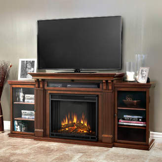 Real Flame Cali 67 TV Stand with Fireplace