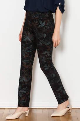 Insight Emerald Leaf Print Pants