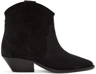 Isabel Marant Black Dewina Boots