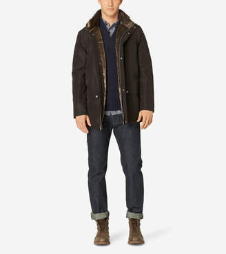 Cole Haan Stand Collar Nylon Jacket