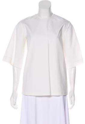 Rosie Assoulin Oversize Short Sleeve Top