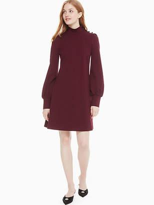 Kate Spade Mockneck ponte dress