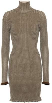 Chloé Ruffled turtleneck dress