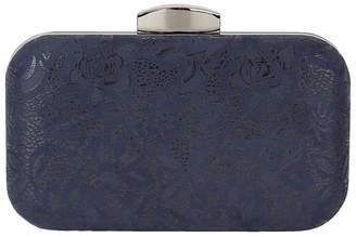 Lotus Navy 'Puffin' Clutch Bag