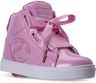 Heelys Little Girls' Fl High Skate Wheeled Casual Sneakers from Finish Line