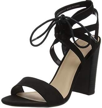New Look Women's Oaker Open Toe Heels,40 EU